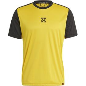 adidas Five Ten 5.10 TrailX T-Shirt Men, żółty